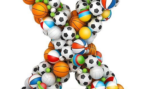 色々なスポーツのボール